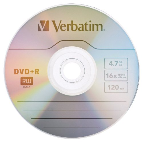 Verbatim Branded Recodale 10 Disc 97956 product image