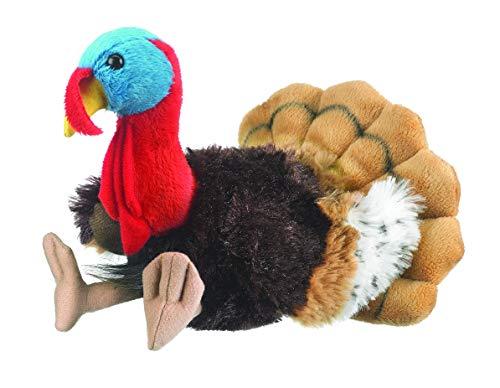 Wildlife Tree 8 Inch Turkey Small Floppy Zoo Stuffed Animals (Stuffed Animals Tree)
