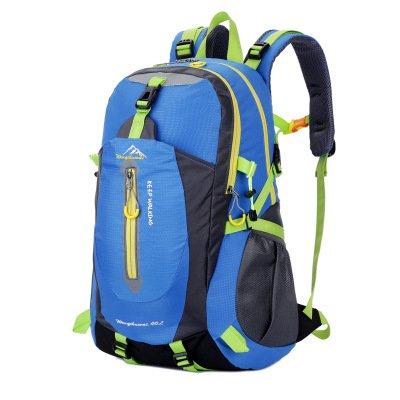 Mountaineering Bag Outdoor Männer und Frauen Schulter Rucksack große Kapazität Wanderpackage Bergsteigen Taschen , grün