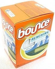 バウンス ドライヤーシート Bounce DryerSheet 乾燥機用衣料柔軟剤 250枚入×4箱 B0094C9AJW