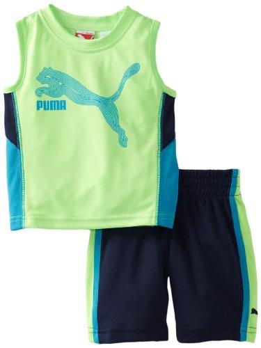 Puma Kids Baby Boys Cat Muscle Set