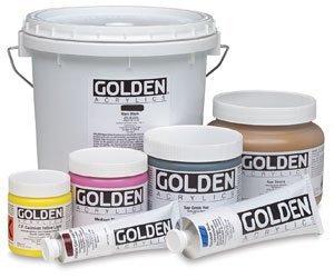 Golden Acrylic : 236ml Heavy Body PHOSPHORESCENT GREEN ()
