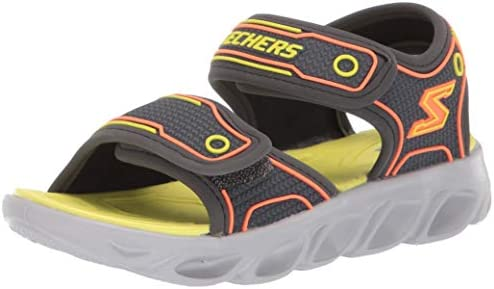 Skechers Boys 90522L CCLM Hypno Splash Grey Size: 1 Little