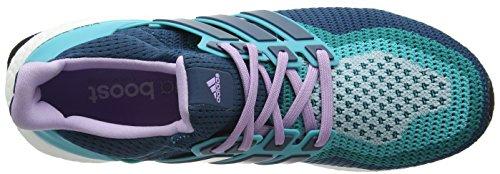 adidas Ultra Boost W, Zapatillas de Deporte Para Mujer Verde / Morado (Vertra / Minera / Brimor)