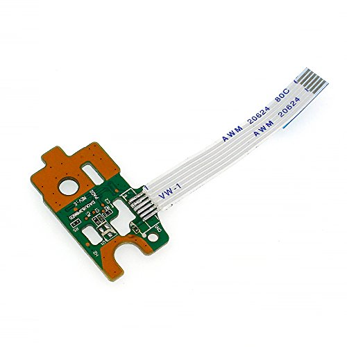 S-Union New Power Button Board w/ Ribbon For HP Pavilion 15-F 15-f010dx 15-f010wm by S-Union (Image #2)