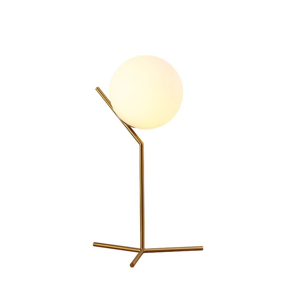 Tischlampe Einfache Moderne Nordic Eyes Glas Schreibtischlampe Schlafzimmer Nacht Wohnzimmer Amerikanische Dekorative Lichter Kreative Arbeitszimmer Lampen