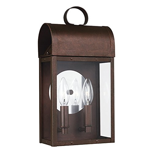 Outdoor Lighting Colonial Style Home - 5