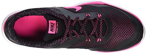 Nike Dames Flex Trainer 5 Print Trainingsschoen Zwart