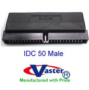 SCSI - 1 IDC50 Male Internal Terminator , Active by VasterCable