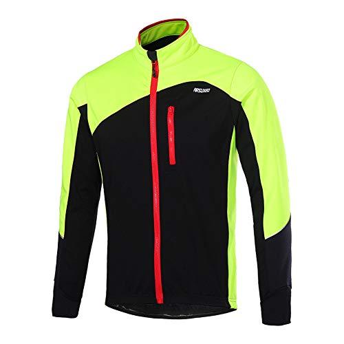 A Cappotto Windproof Verde Da Uomo Vello Inverno Giacca Vento Hzjundasi Ciclismo PUpxwqY8qn
