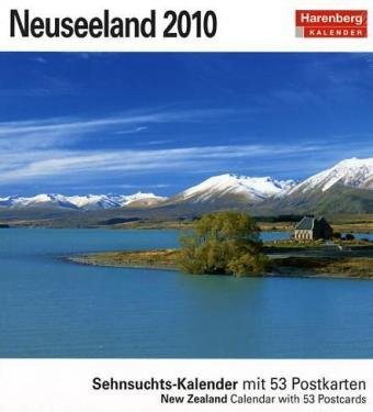 Harenberg Sehnsuchts-Kalender Neuseeland 2010