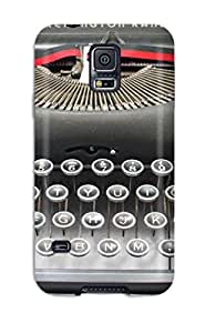 (HzyPQPO810VUHfR)durable Protection Case Cover For Galaxy S5(remington Deluxe Model 5 Typewriter)