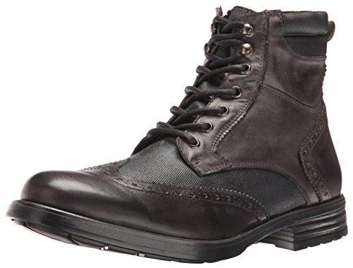 Steve Madden Men's Gastonn Winter Boot, Black, 10.5 M US