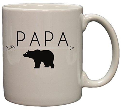 Papa Bear Funny 11oz Coffee product image