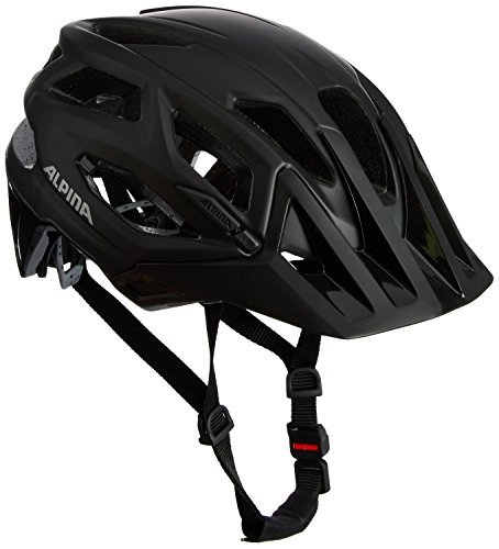 Alpina Garbanzo Cycling Helmet - schwarz, 52 - 57 cm by Alpina