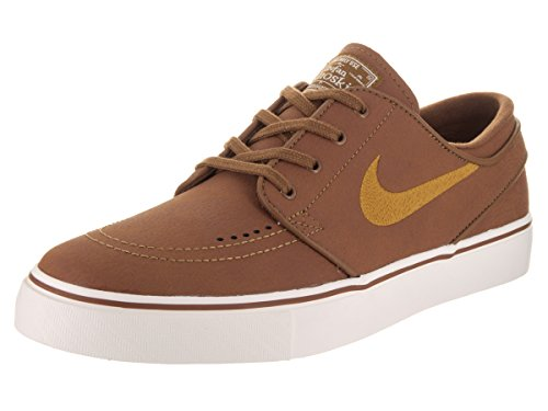 Nike SB Zoom Stefan Janoski L Leather Ale Brown/Desert Ochre Sail *