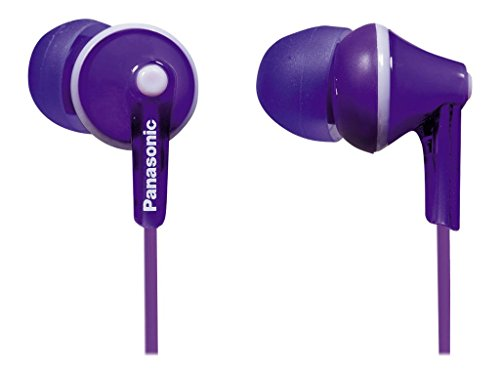 Panasonic Wired Earphones - Wired, Purple (Panasonic Earphones Headphones)
