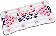Barstool Sports Saturdays are for The Boys Beer Pong Float Inflatable Pool Pong Fun Party Game for Adults