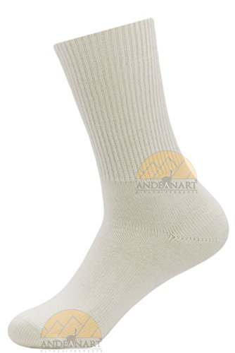 Dress SMART ALPACA SOCKS Premium Quality - Trouser Weight - All Weather Comfort by Alpaca World's BEST NATURAL THERMAL MANAGEMENT - Moisture Wicking - ALOE Infused for Skin Care