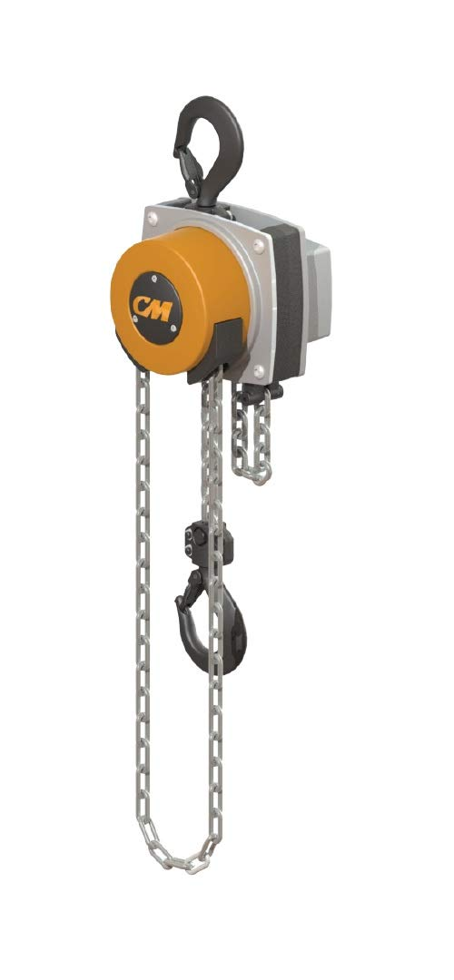 Cm 5624a Steel Hurricane Hand Chain Hoist With Hook Mounted 1000 Lbs Capacity 15 Lift Height Industrial Scientific