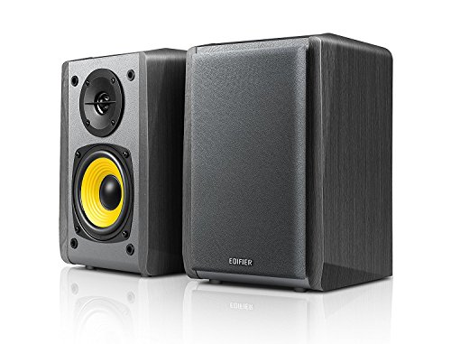 Edifier R1010BT - 4' Bluetooth Wireless Creative Reference Multimedia Monitors - Studio Monitor Speaker (Pair) 24 Watts RMS - Black
