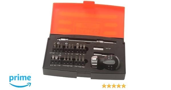 Bahco 808050S-22 - Juego Destornillador Carrac Mini 22P