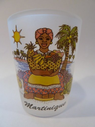 - Martinique Lady Shot Glass