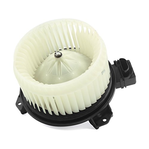 Non Flanged Blower Motor - X AUTOHAUX New A/C HVAC Heater Blower Motor Assembly Replacement with Wheel for 07-12 Toyota Yaris 700235 87103-52141 DC 12V
