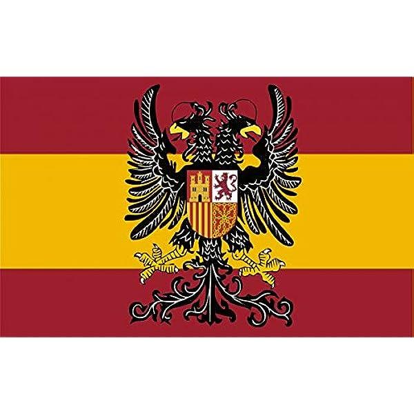 Durabol Bandera de España con Águila Bicéfala 150X90 CM Flag Satin ...