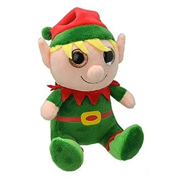 ORBYS Wild Planet 15cm Luxury Handmade Xmas Elf Soft Toy. Plush ...