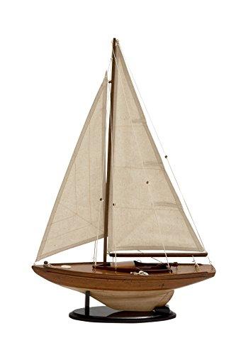 Deco 79 Miniature Wood Sailing -