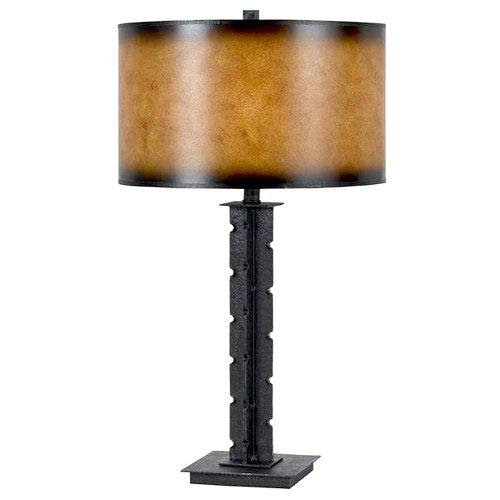 (CAL LIGHTING BO-2290TB  150-watt 3 Way Tularosa Hand Forged Iron Table Lamp)