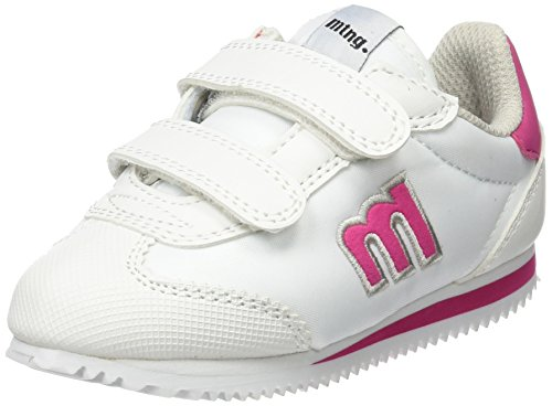 MTNG Unisex-Kinder Chapito Sneakers Mehrfarbig (Action Pu Blancoraspe Fucsia)