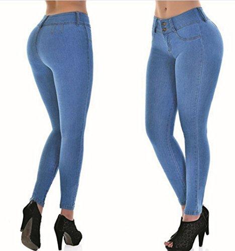 Fit Minces Jeans Pantalons Crayon Skinny Haute Jeans Hip Pantalons Skinny Jean Pantalons Denim Skinny Jeans Leggings Taille Jeans Slim Skinny Femmes Stretch Skinny Scothen Blue Pantalon Skinny n416WqOq