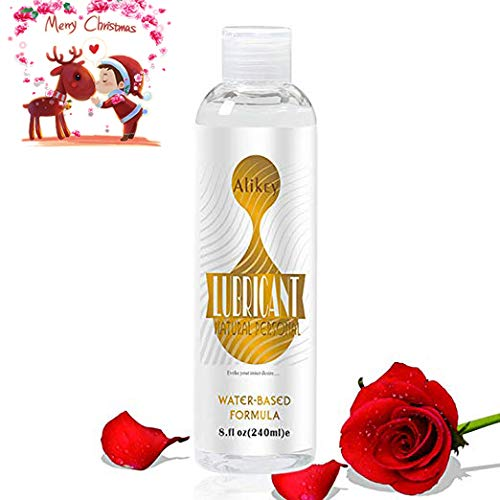 ALIKEY Natural Personal Lubricant, Water-Based Lubricant Super Slick Long Lasting,Hypoallergenic,Premium Sex Lube Lubricant for Women Men Couple, 8 OZ