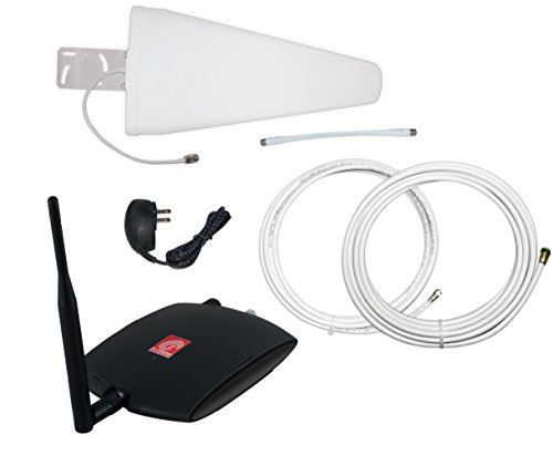 zBoost ZB575X-V TRIO SOHO Xtreme Tri-Band Verizon 4G Cell Phone Signal Booster, up to 5,500 sq. ft. by zBoost