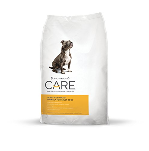 Diamond Care Sensitive Stomach Recipe Specially Made as a Limited Ingredient Diet to Support Dogs Sensitive Stomach Digestive Issues 25lb by Diamond Pet Foods