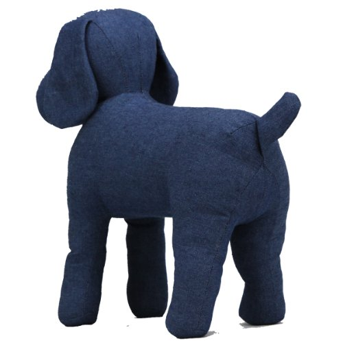 Amazon Teafco Cleo Blue Denim Dog Mannequin Standing Pet Supplies