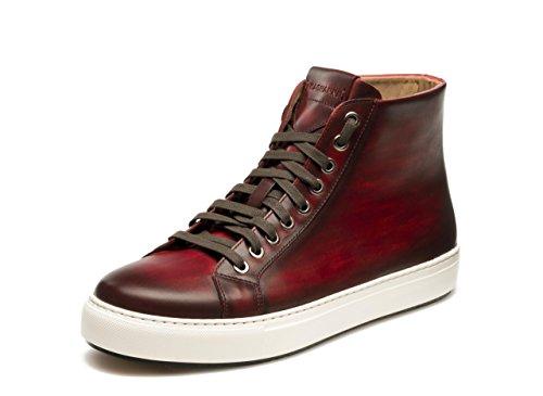Magnanni Brando Hi Röda Herrmode Sneakers Rött
