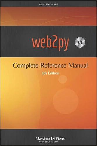 web2py (5th Edition)