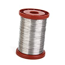 1 Roll 0.5mm 500G Stainless Steel Wire for Hive Frames Beekeeping Tool