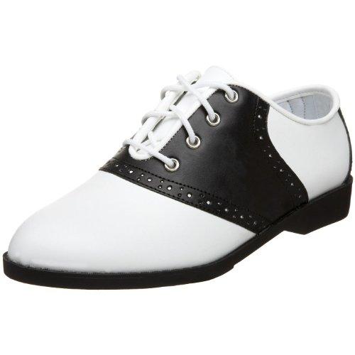 50 (9, White/Black) Saddle Shoes -