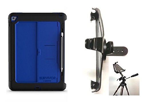 Price comparison product image SlipGrip Tripod Mount Designed For iPad Pro 12.9 inch Tablet Griffin Survivor Slim Case