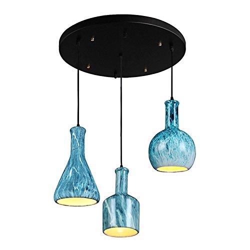 (MOMO Personalized Decorative Lighting Aluminum Glass Small Plum Blossom Chandelier,A)