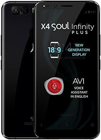 X4 Soul Infinity Plus - Smartphone 4G Dual SIM, 6GB RAM, Pantalla ...