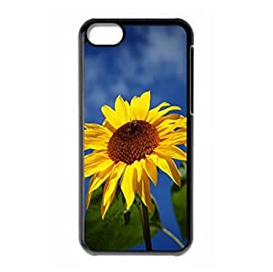Coloful sunflower printing for iPhone 5C hard back case