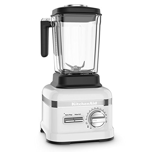 KitchenAid KSB8270FP Pro Line Series Thermal Control Jar Blender, 3.5 HP, Frosted Pearl (Renewed)