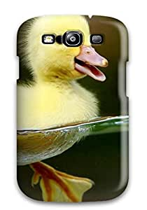 Durable Defender Case For Galaxy S3 Tpu Cover(little Duck)