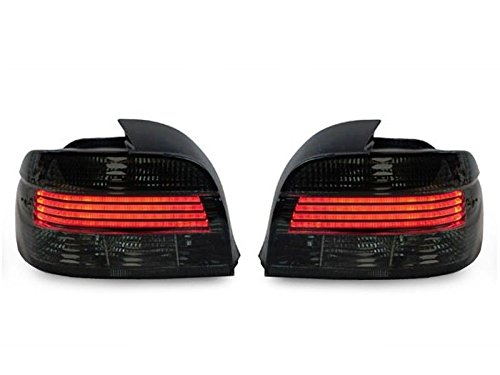 CPW (tm) Smoke Lightbar LED Replacement Tail Lights New FOR 2001-2003 BMW E39 5 Series 540i M5 530i 525i