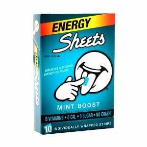 Sheets Energy Strips, Mint Boost 10 ea